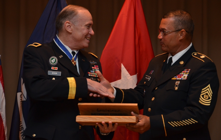 Louisiana National Guard general retires