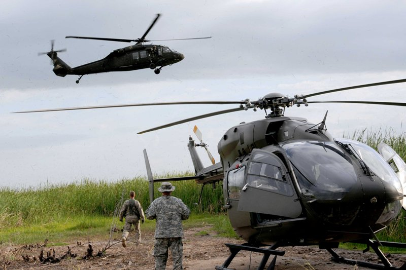 La. Guard first to fly new helicopter in overseas mission