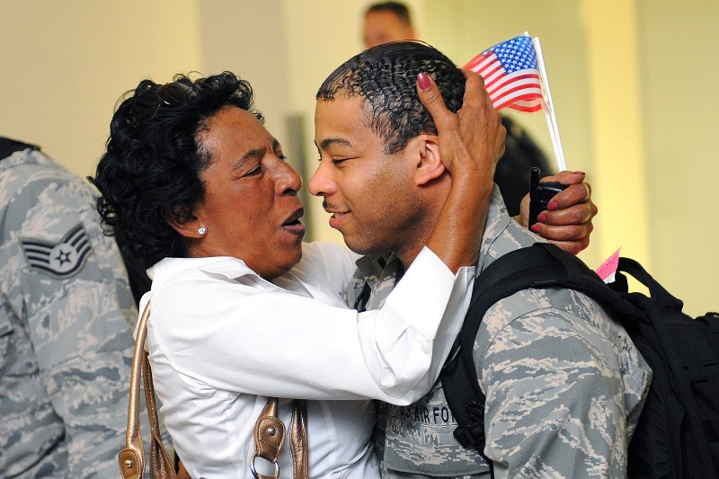 La. National Guard Airmen return home