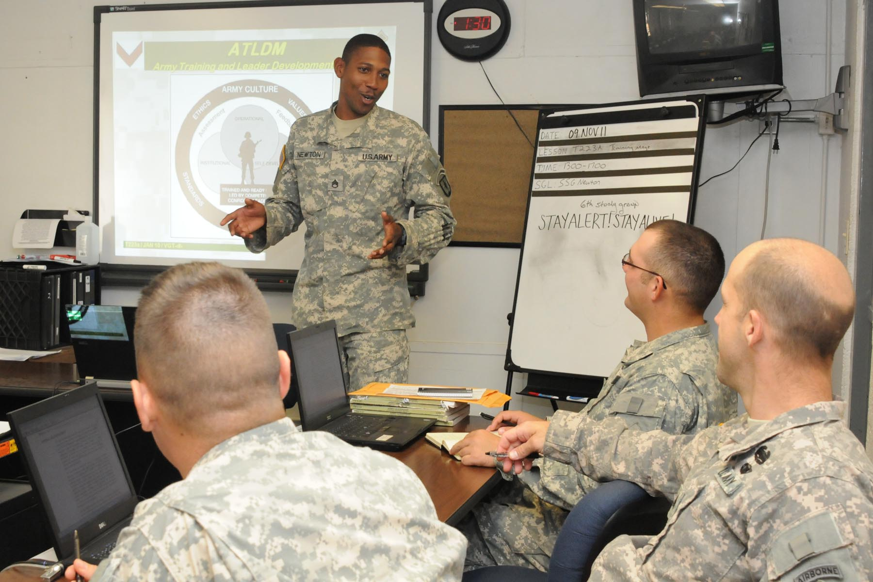 La. National Guard trains active-duty Soldiers