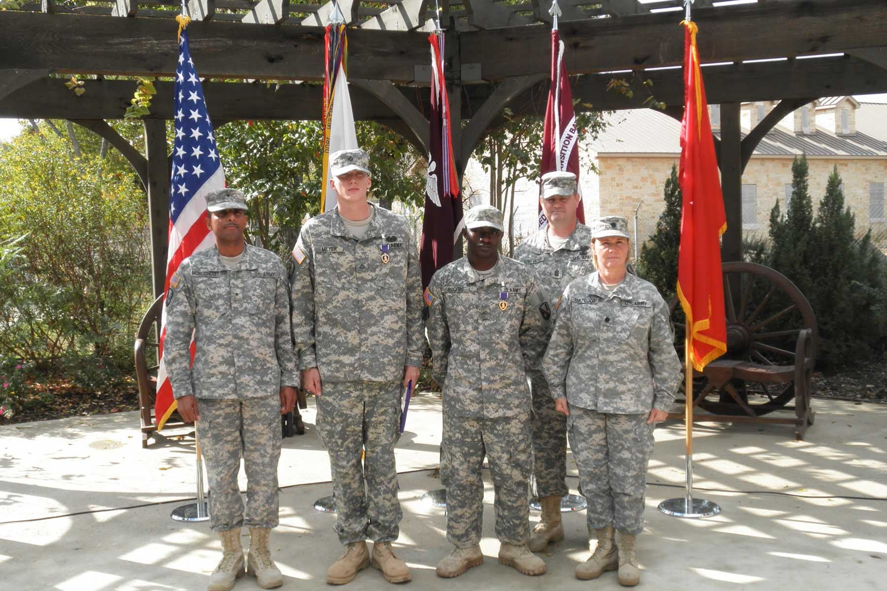 La. National Guardsmen receive Purple Hearts