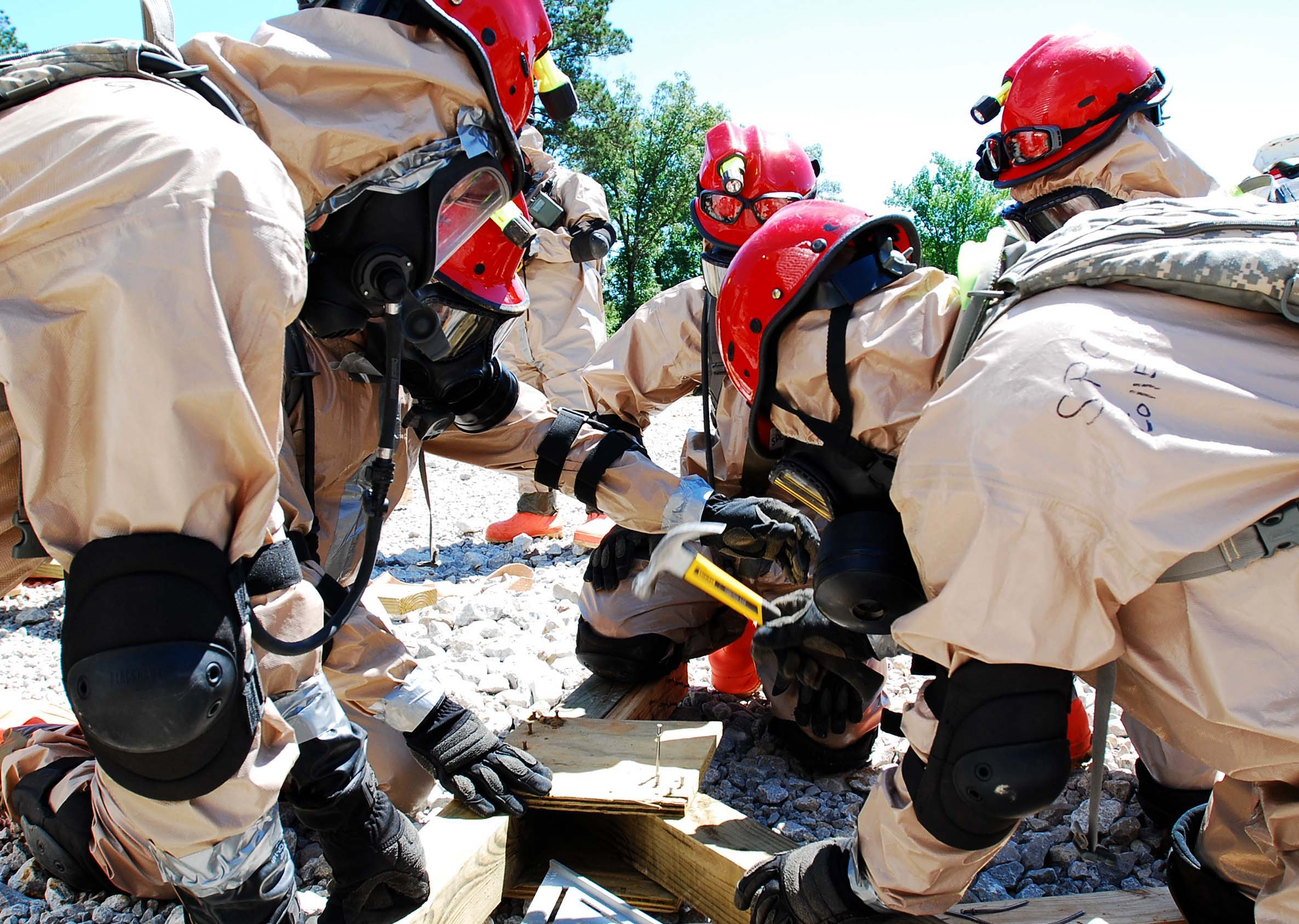 LANG special disaster team completes training for certification by DoD