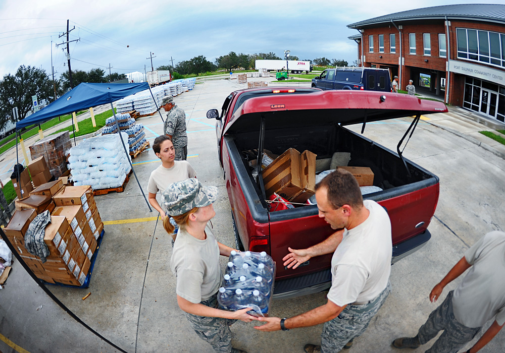Air Guard performs variety of hurricane response missions