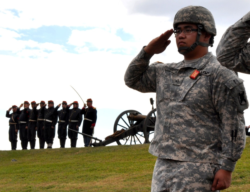 Historic artillery unit holds annual ceremonies