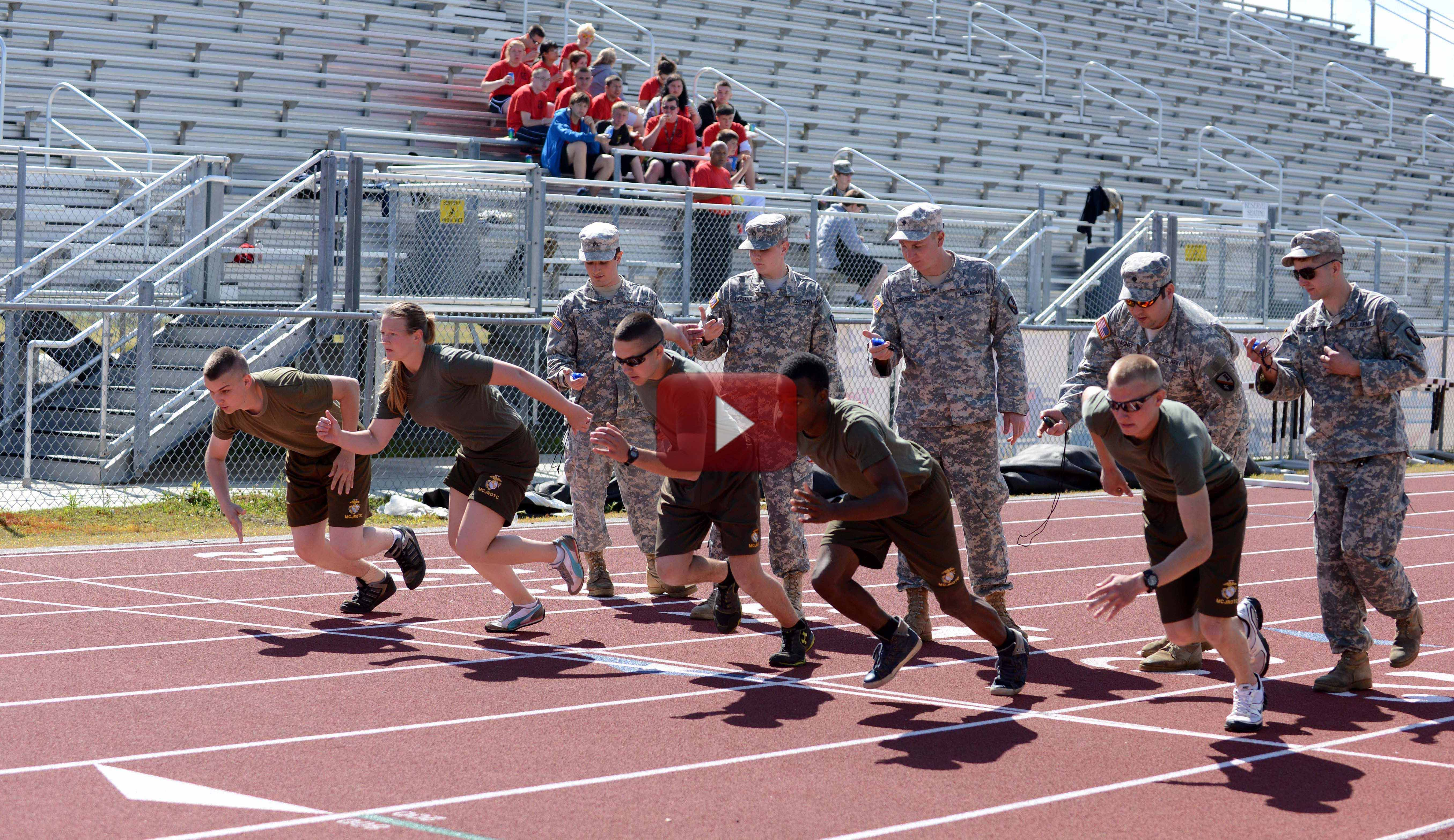La. Guard sponsors JROTC sports event