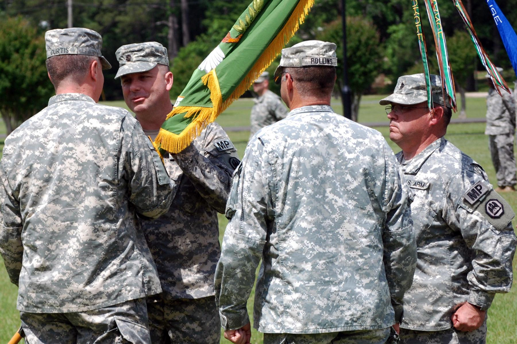 La. Guard's 773rd Military Police Battalion welcomes new leader