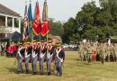 La. Guard's Washington Artillery welcomes new commander