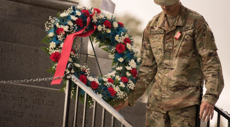 Washington Artillery holds annual traditional ceremonies