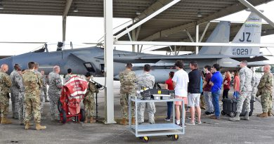 159th Fighter Wing hosts 'Bring a Friend to Drill' day