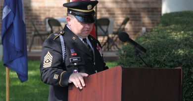 La. National Guard sergeant major retires after 29 years