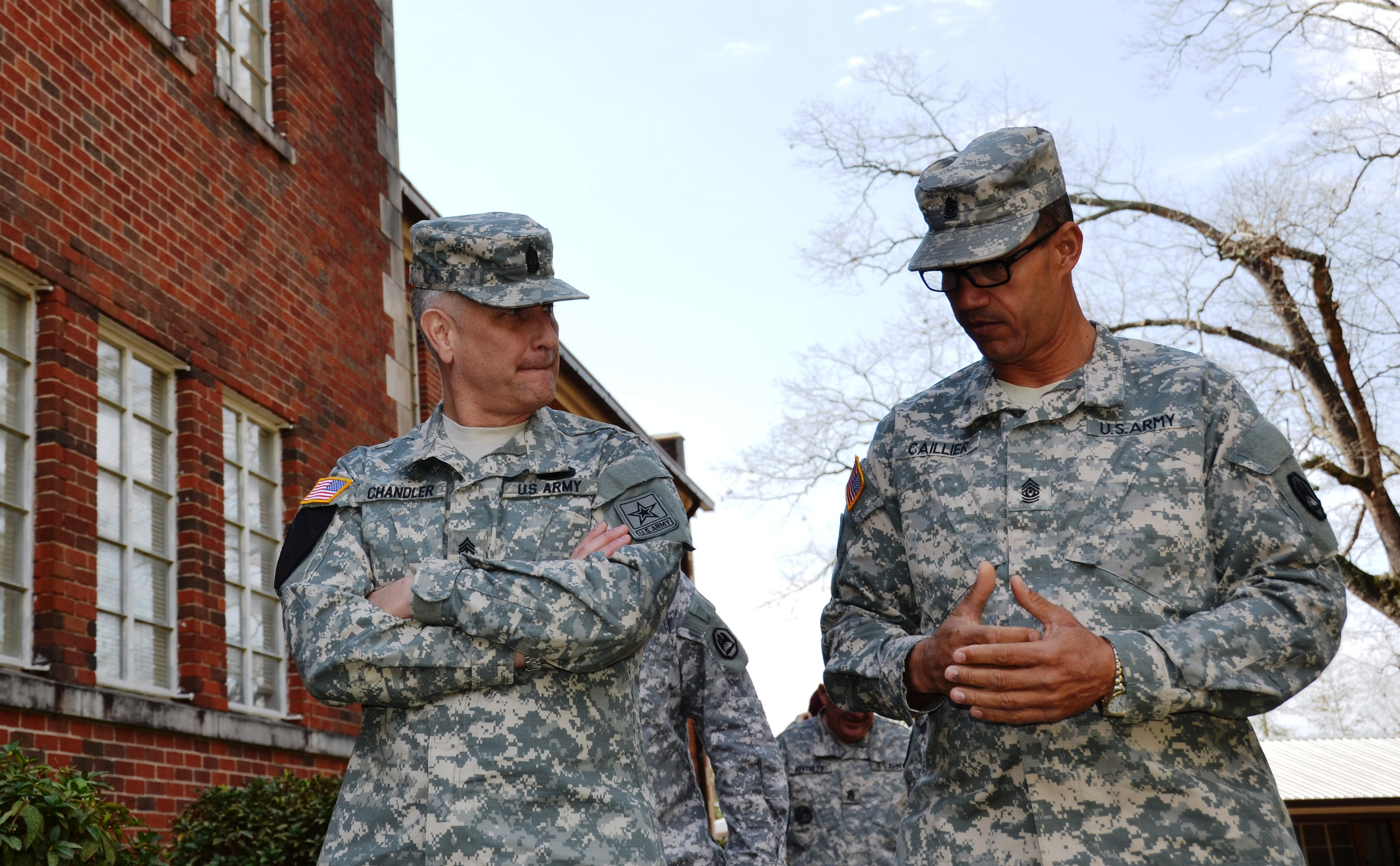 Sgt. Maj. of the Army visits LANG NCO Academy