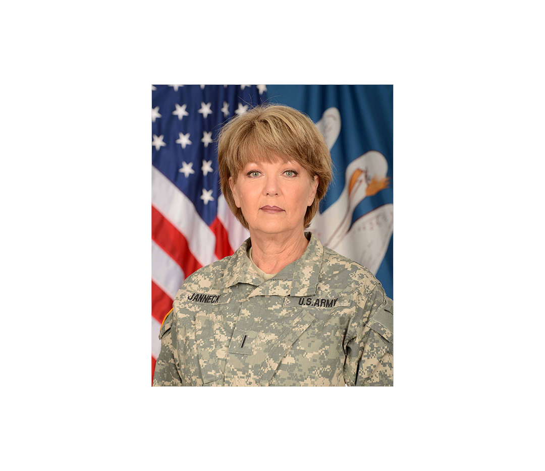 Louisiana National Guard's top warrant officer retires