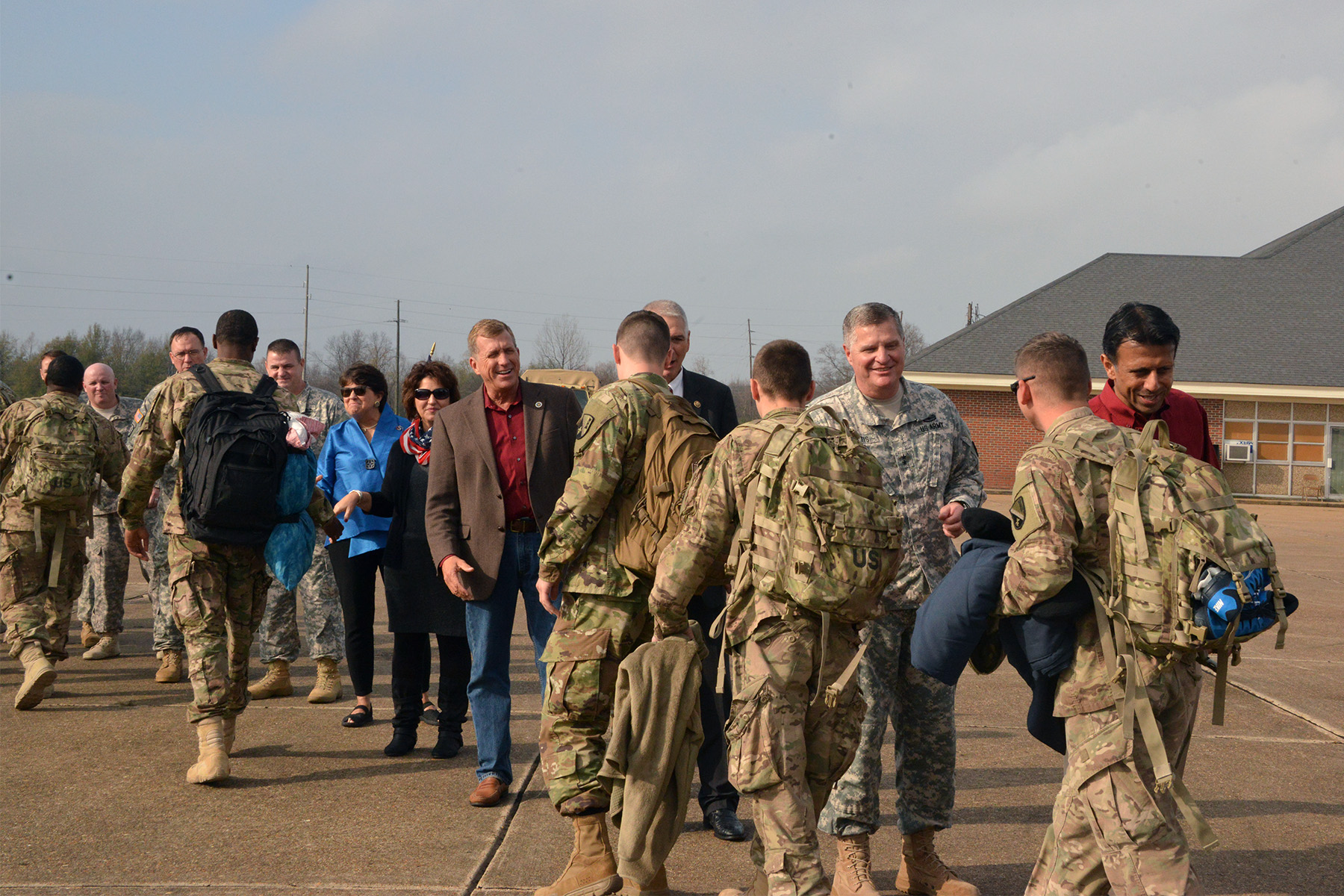 Best Christmas present ever\' – 1023rd Engineer Company returns home ...